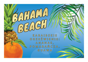 Bahama Beach - Bubble Tea box (10 sztuk)